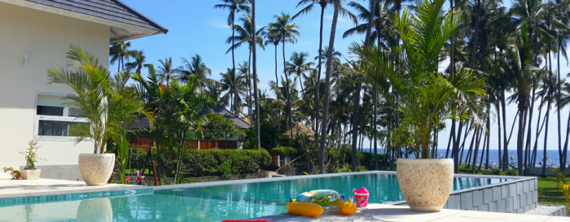 north east bali beachfront villa for sale