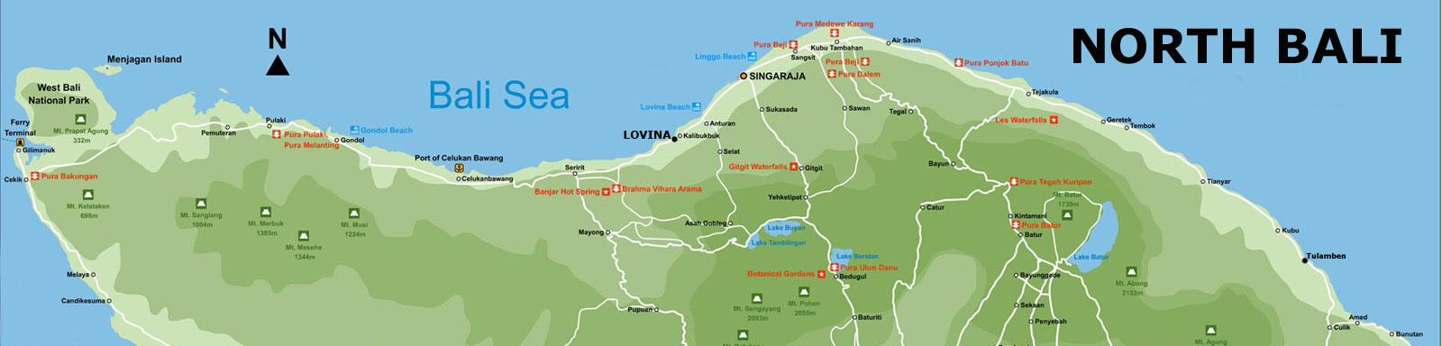 north-bali-map