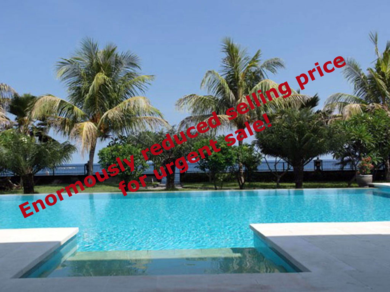 bali oceanfront villa for sale