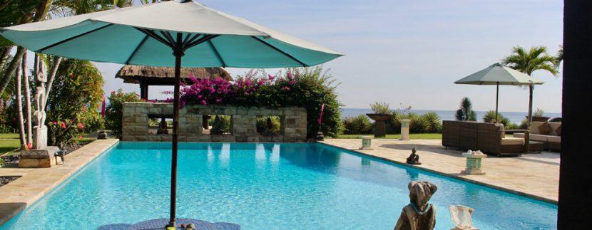 bali beachfront villa for sale pool