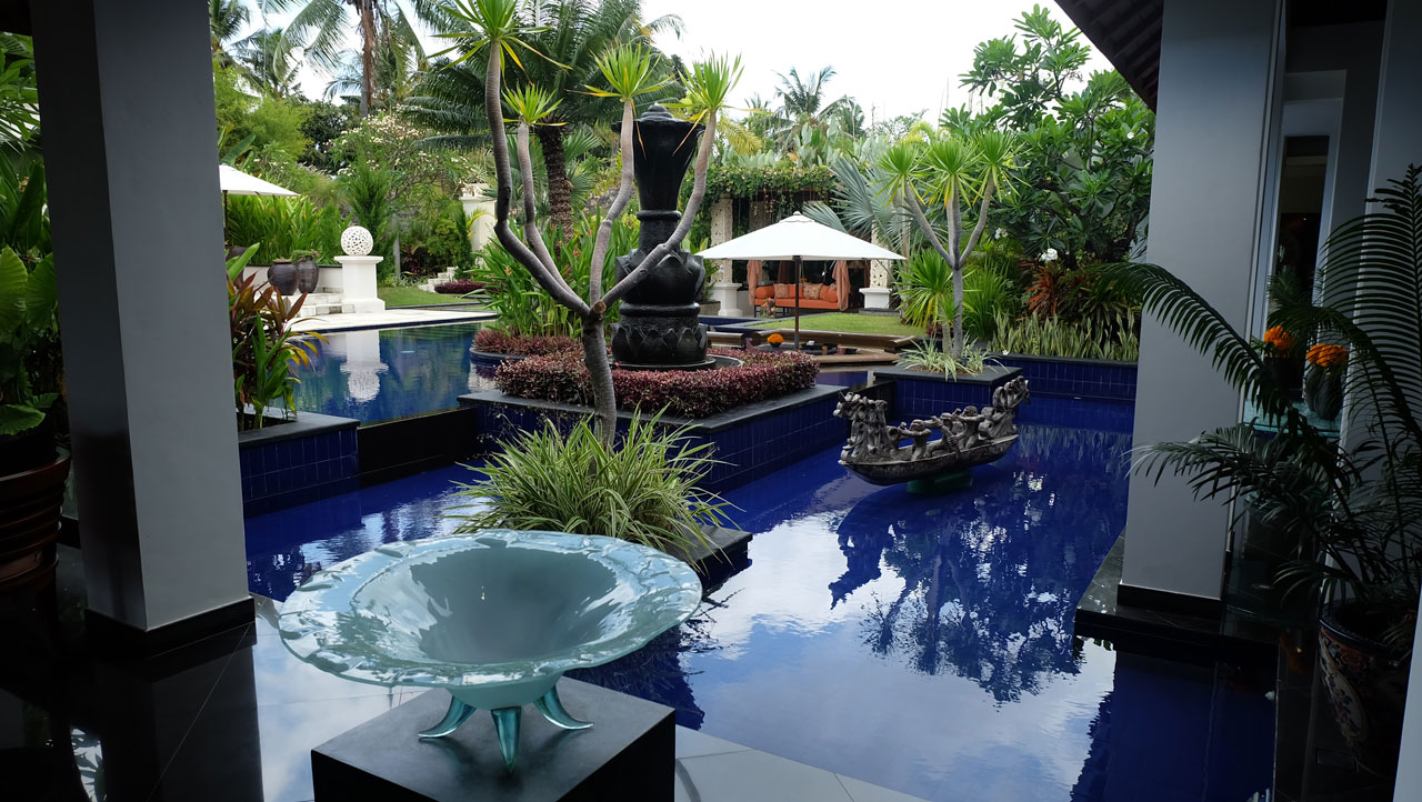 bali villa with view for sale