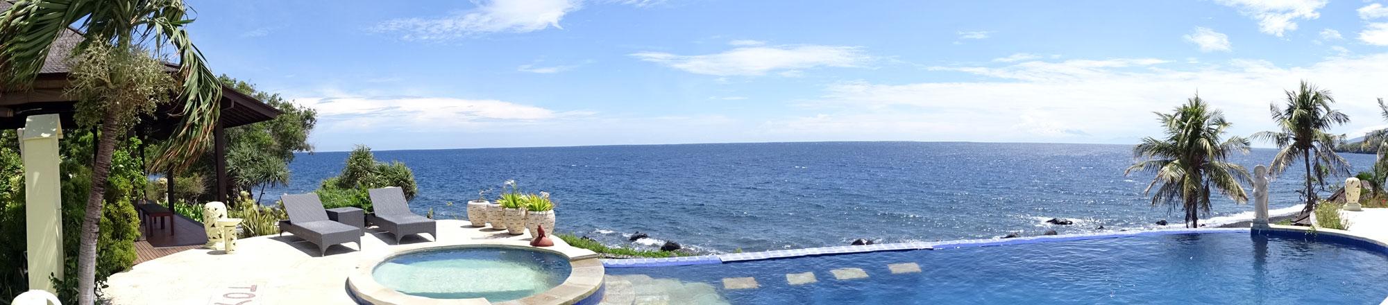 Bali oceanfront hotel resort for sale